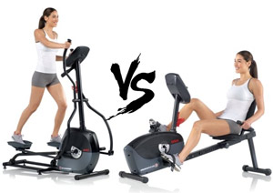Elliptical bike vs cross trainer 820